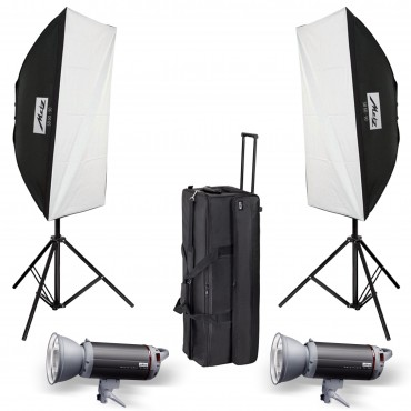 METZ KIT FLASH ESTUDIO TOP LINE TL-300 SB