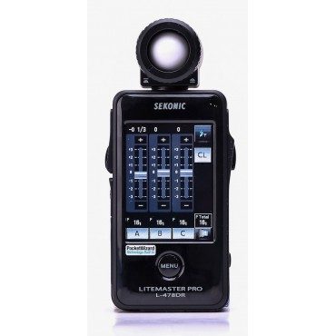 SEKONIC L-478DR LITEMASTER PRO RADIO