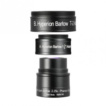 BAADER Barlow Hyperion Zoom 2.25x  Ref.:  1501202956180