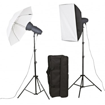 METZ KIT FLASH ESTUDIO BASIC LINE BL-200 SB/UM