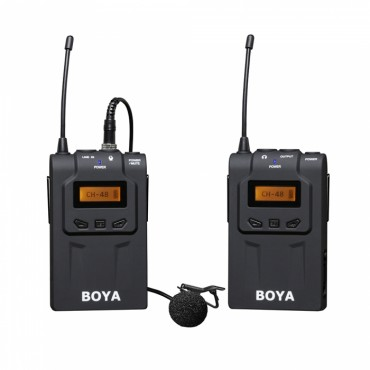 Kit Micrófono lavalier inalámbrico UHF Boya BY-WM6