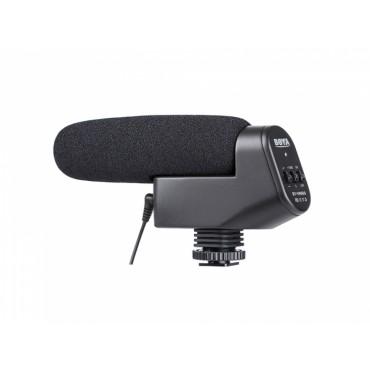 Microfono de cañon cardioide Boya BY-VM600