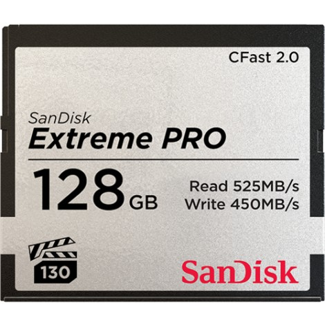 SANDISK CF Extreme PRO 128GB 525Mbt/s cFast 2.0
