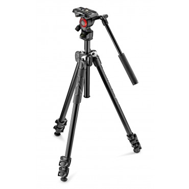 MANFROTTO Kit Tripode 290 Light con rótula de vídeo