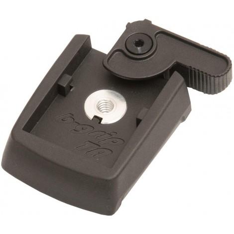 B-Grip Just - Adaptador para tripode, Negro
