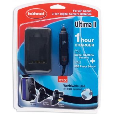 Hähnel Ultima II - Cargador para baterías (Nikon-Canon)