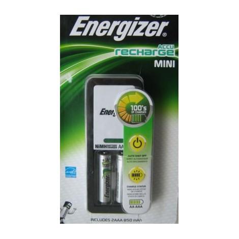 ENERGIZER CARGADOR AAA + 2 PILAS 850 MAH