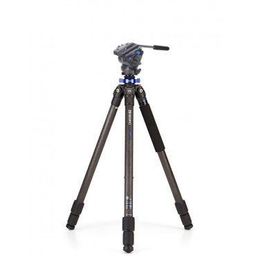 BENRO KIT TRIPODE CARBONO MACH3 TMA27C +ROTULA VIDEO S4