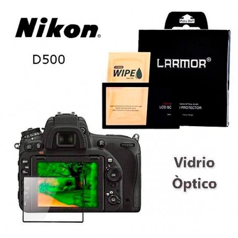 LAMOR PROTECTOR PANTALLA NIKON D500