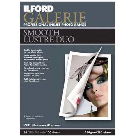 ILFORD GALERIE SMOOTH LUSTRE DUO 280G A4 25H