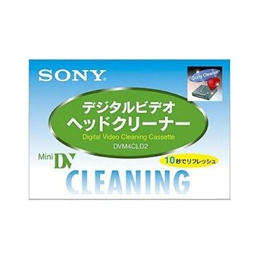SONY MINI DV HEAD CLEANNER DVM4CLD