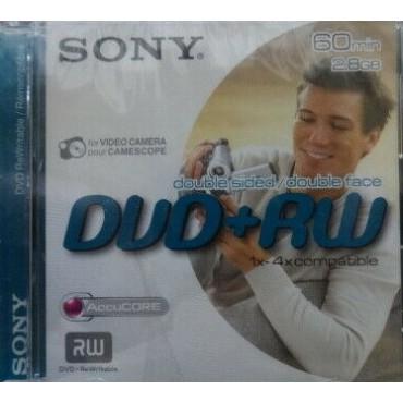 sony dvd+rw 8cm 60 min