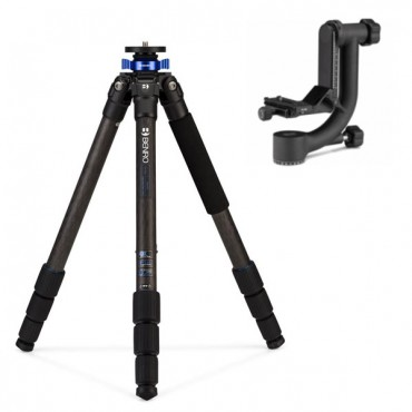 BENRO TRIPODE CARBONO MACH3 (TMA38CL) + ROTULA GIMBAL GH2