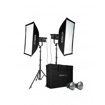 NANLITE Kit 2 Foco Led FS-300 350W 5600K
