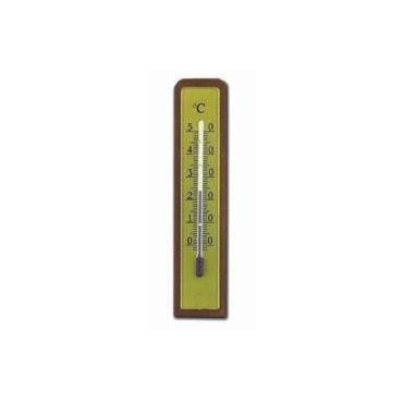 TFA Termómetro base madera 55800