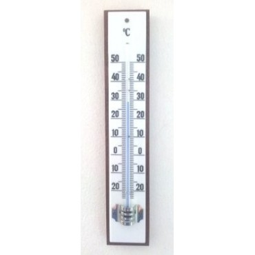 TFA Termómetro base madera 55800-c