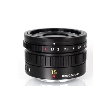 PANASONIC LEICA DG SUMMILUX 15 MM F/1,7 ASPH