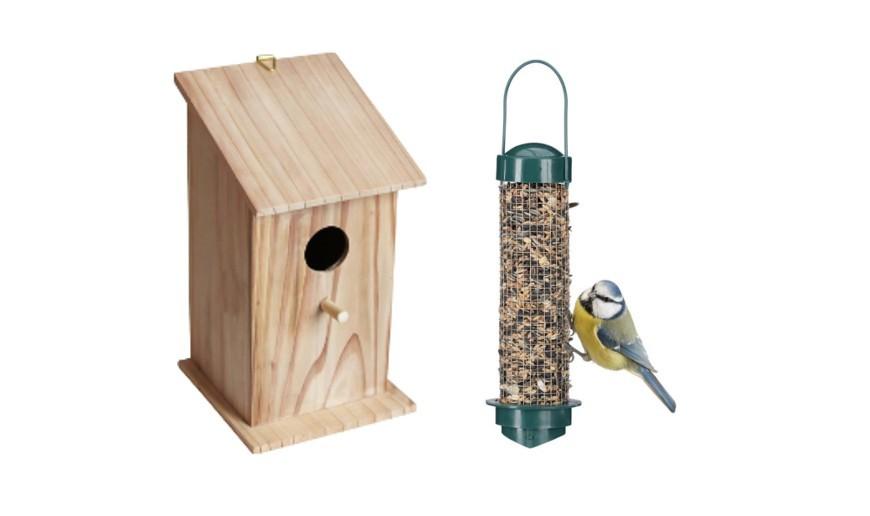Cajas-nido y comederos