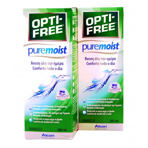 OPTIFREE PUREMOIST 300 ml 2 Uds.