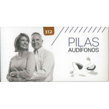 PILAS AUDIFONOS -312 (MARRONES)