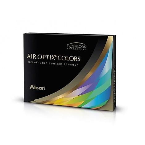 AIR OPTIX MARRON -SIN GRADUACION