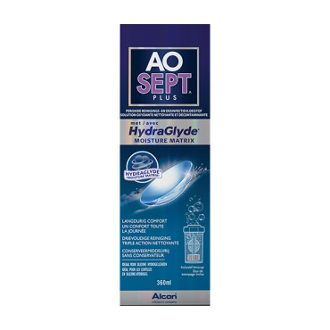 AOSEPT HYDRAGLYDE PLUS 1x360 ml.