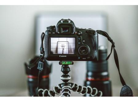 Fotografía digital con cámara réflex